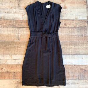 Kate Spade | Black Bow Sleeveless Mini Dress